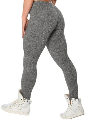 """TIFIY Women Fashion Sexy Solid Workout Fitness Sports Gym Running Yoga Athletic Pants Leggings Trouser (XL(Waist 29.5-34.3"""")"""