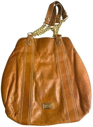 Badgley Mischka Brown Leather Handbags