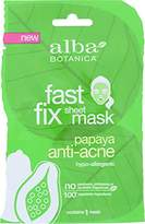 Alba Fast Fix Sheet Anti-Acne Mask, Papaya (Pack of 8)