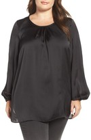 Melissa McCarthy Plus Size Women's Full Sleeve Blouse