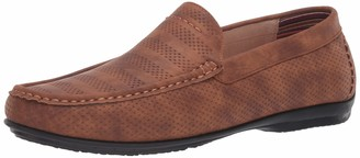 Stacy Adams Mens Cirrus Moc Toe Slip-On Loafer Driving Style