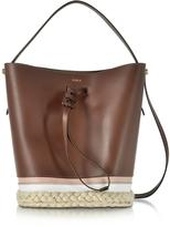 Furla Vittoria S Glace Drawstring Bucket Bag