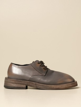 Marsèll Mentone Derby In Waxed Leather