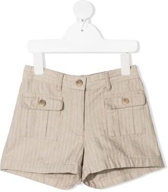 Bonpoint Saona striped shorts
