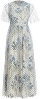 RED Valentino Point Despirit Tulle Midi Dress