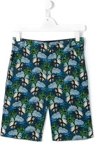Stella McCartney palm tree chino shorts