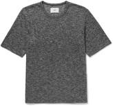 Folk - Mélange Knitted Cotton T-shirt