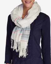 Eddie Bauer Women's Weekend Getaway Oblong Scarf - Stripe