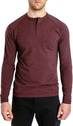 Public Rec Go-To Long Sleeve Performance Henley T-Shirt