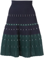 Yigal Azrouel cording stitch knit skirt - women - Nylon/Viscose - S