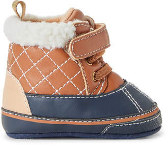 First Steps (Infant/Toddler Boys) Tan Duck Boots