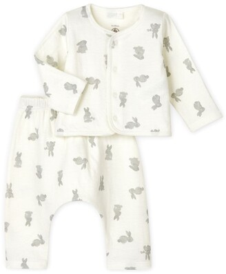Petit Bateau Rabbit T-Shirt And Leggings Set (0-18 Months)