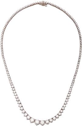 Riviera Maria Jose Jewelry 18K White Gold and Diamond Necklace