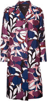 Paule Ka floral woven coat