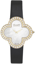 Van Cleef & Arpels 30mm Alhambra Sertie 18K & Diamond Watch