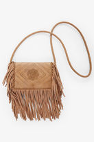 BCBGeneration Wild & Free Fringe Crossbody - Tan
