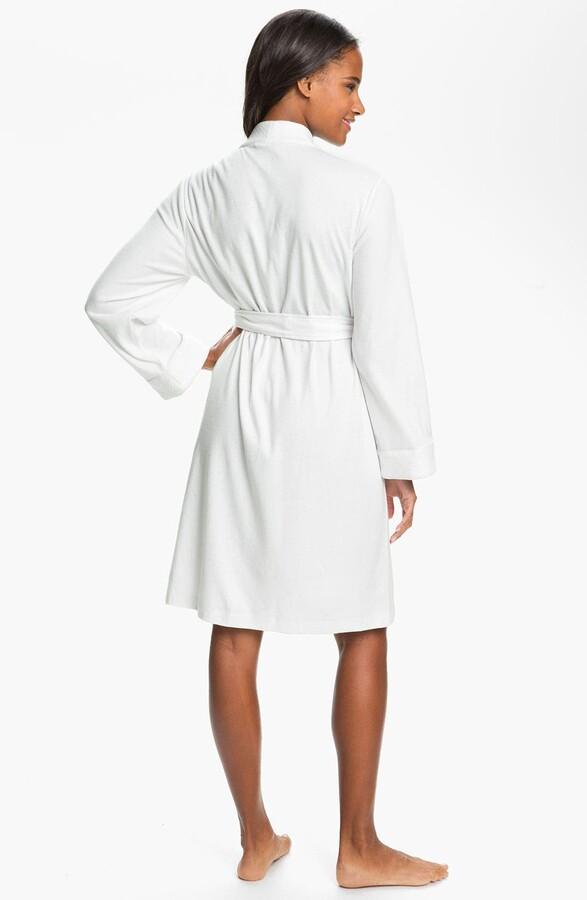 Thumbnail for your product : Lauren Ralph Lauren Quilted Collar Robe