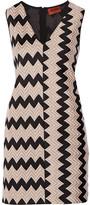 Missoni Crochet-knit Mini Dress - Sand