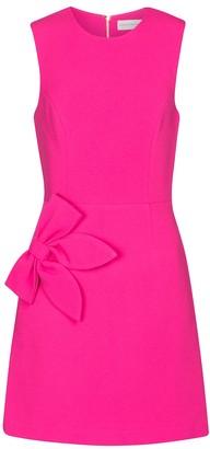 Rebecca Vallance Barbie crepe minidress