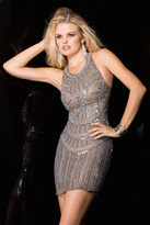 Scala 48578 Dress In Lead/Silver