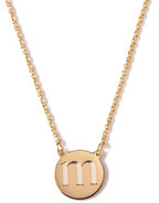 Sarah Chloe Cara Round Necklace