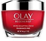Olay Regenerist Advanced Anti-Aging Micro-Sculpting Face Moisturizer Cream, Fragrance-Free 1.7 Ounces