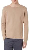 Topman Men's Longline Split Hem Sweater