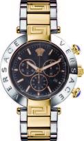 Versace Reve Chrono Collection VQZ120015 Men's Stainless Steel Quartz Watch