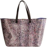 Victoria Beckham Multicolor Leather Shopping Bag
