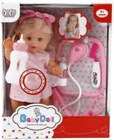 Samber Smart Lifelike Baby Doll Simulation Baby Doll Children Role Playing Toy Children Play House Toys Christmas Birthday Gift for Girls Baby Kids Children/