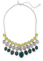 New York & Co. Oval Faux-Stone Statement Necklace