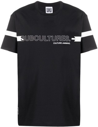 Les Hommes Urban Subcultures oversized T-shirt