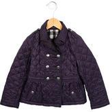 Burberry Girls' Lightweight Quilted Jacket