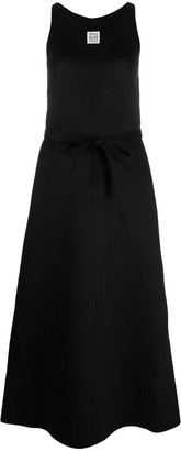 Totême Tied-Waist Sleeveless Maxi Dress