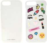 Chiara Ferragni Stickers iPhone 7 Plus case