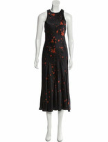 Thumbnail for your product : Alexander Wang Printned Sleeveless Dress w/ Tags Black
