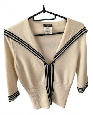Chanel Beige Cashmere Tops