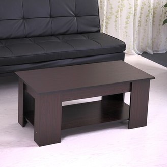 Latitude Run Arfh Lift Top Coffee Table with Storage