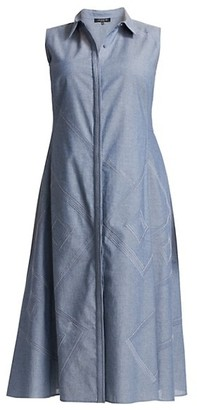 Lafayette 148 New York, Plus Size Ryden Cotton Dress