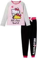 Komar Hello Kitty Let's Taco 'Bout It Pajama Set (Little Girls & Big Girls)