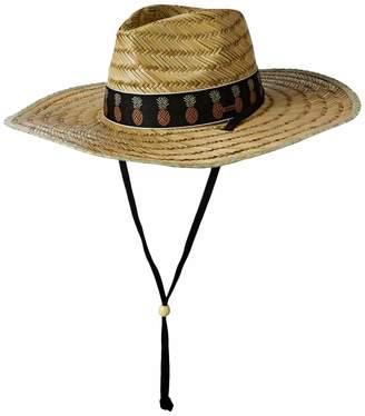O'Neill Women's Adjustable Chin Strap Straw Lifeguard Hat
