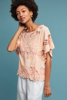 Anthropologie Victoria Lace Top