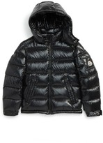 Moncler Boy's Maya Hooded Down Jacket