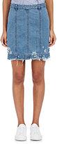 Public School Women's Edgar Distressed Denim Skirt