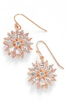 Nina 'Floral' Crystal Drop Earrings