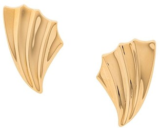 Monet Pre Owned 1980s Clip-On Earrings