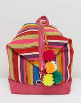 Pitusa Summer Backpack With Pom Pom's