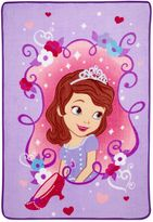 Bed Bath & Beyond Sofia The First Coral Fleece Blanket