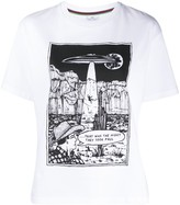 Paul Smith graphic comic strip print T-shirt