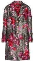 Dolce & Gabbana Floral-printed jacquard coat